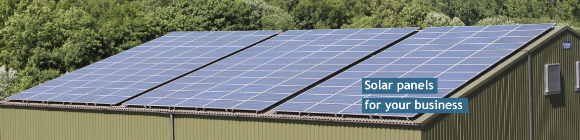 Solar panels for your business